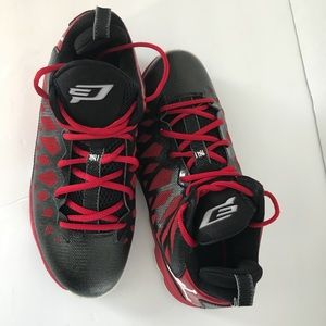 huge discount 17f63 5466e Nike Shoes - Men s Nike Air Jordan CP3 VI sneakers Red Black 9